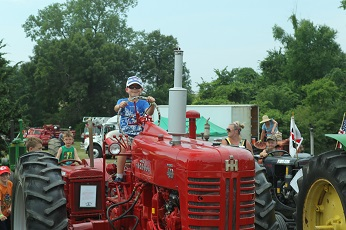 Tractor at Touch-a-Truck